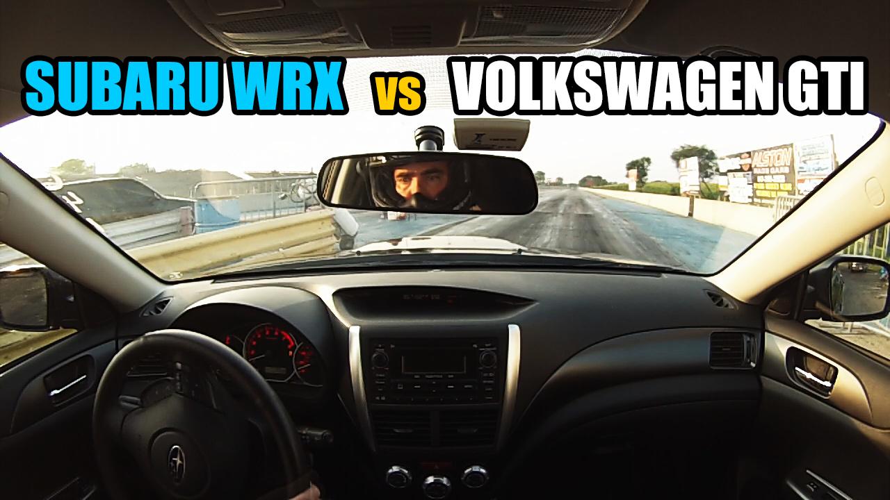 Subaru-WRX-vs-Volkswagen-GTI
