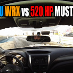 Subaru-WRX-vs-520-HP-Roush-Mustang