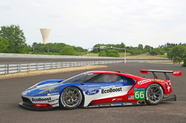 2017 Ford GT Race Car