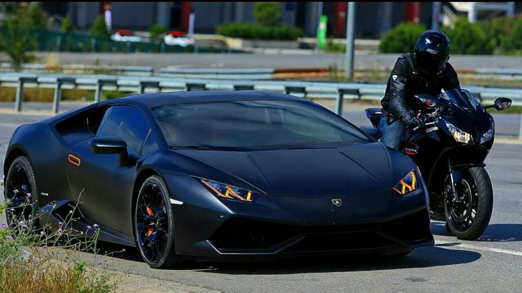 CBR1000RR versus Lamborghini Huracan
