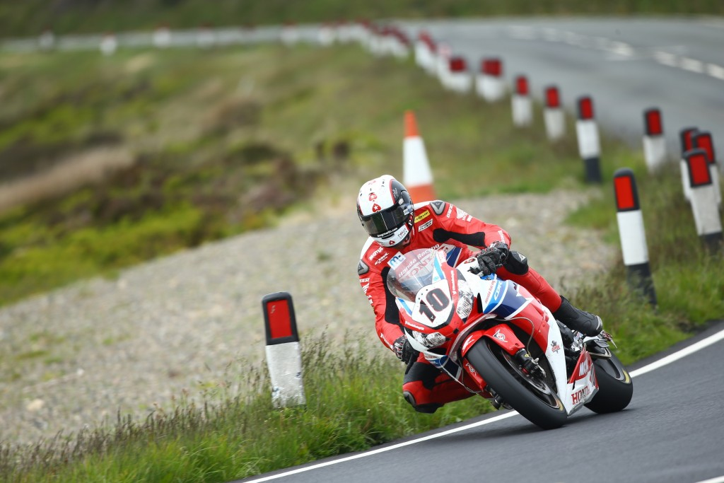 John McGuinness takes historic Senior TT win at the Isle of Man