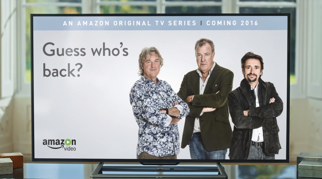 jeremy clarkson slams bbc during amazon commercial. Black Bedroom Furniture Sets. Home Design Ideas