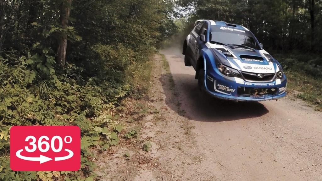 Subaru WRX Rally in 360° Peer-Thru Technology