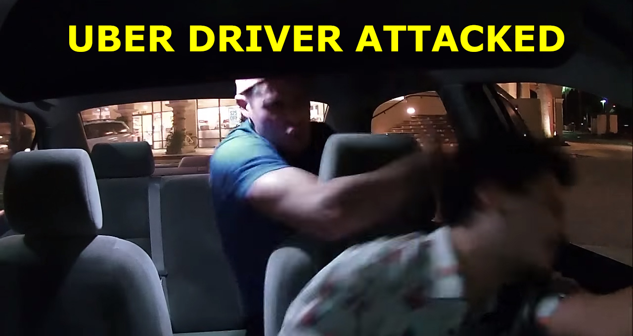 Uber Car Seat >> Uber Driver Attacked - Fights Back with Pepper Spray