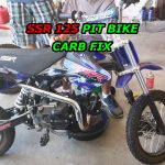 The engine dies when you turn off the choke. SSR 125 Pit Bike Carb Fix